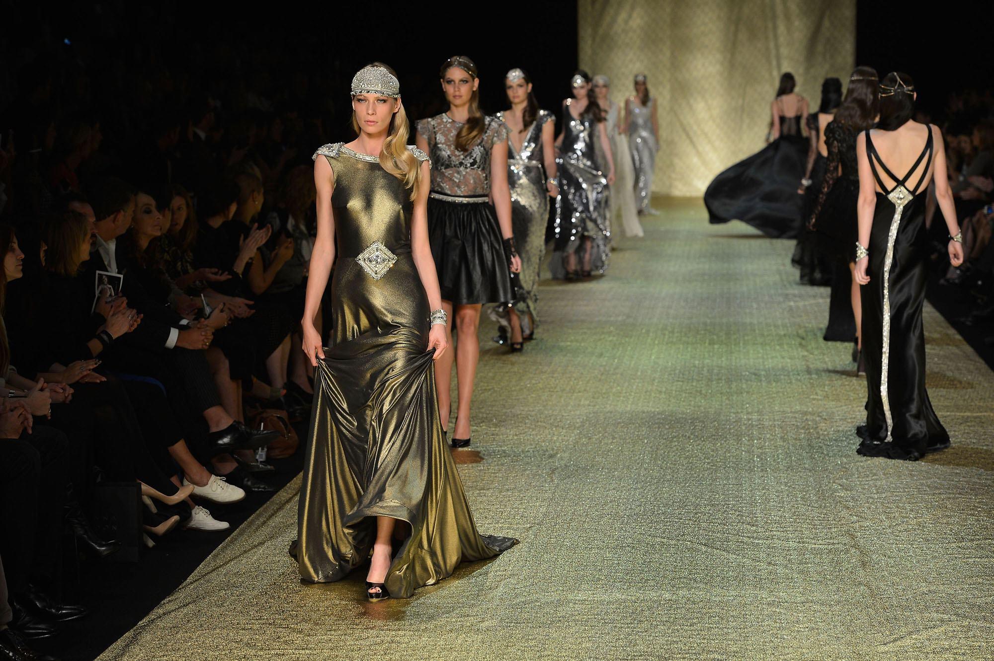 Johanna Johnson Luxor Collection at Mercedes Benz Fasion Week Australia