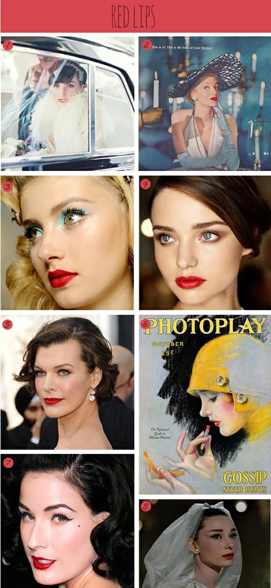 DIY Glamorous Red Lips