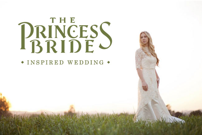 Green Wedding Shoes The Princess Bride wedding shoot