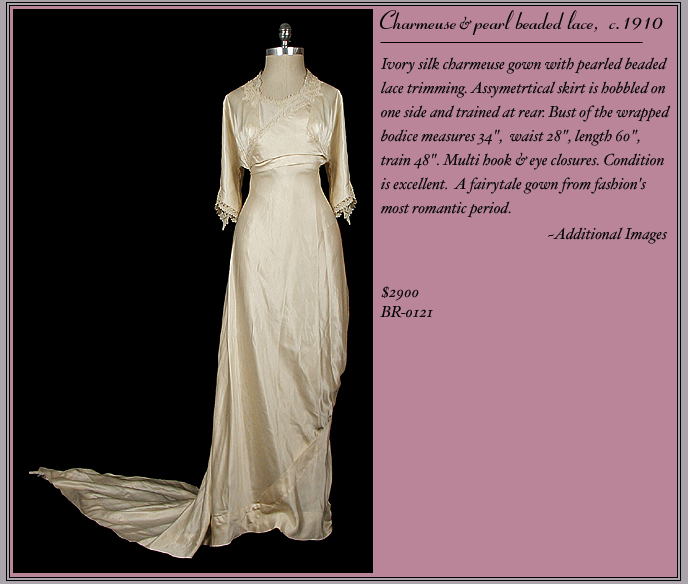 1910 Bridal Gown