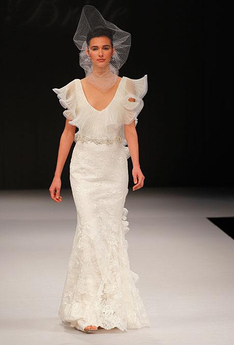 1940s inspired Badgley Mischka Calista Gown