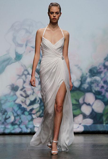 1950s inspired Monique Lhuillier Monroe Wedding Dress