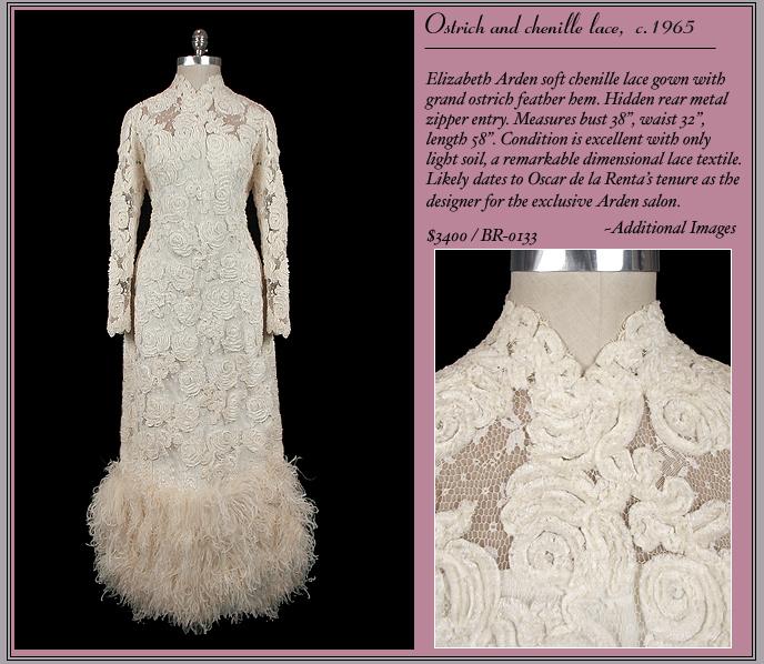 1965 Elizabeth Arden Bridal Gown