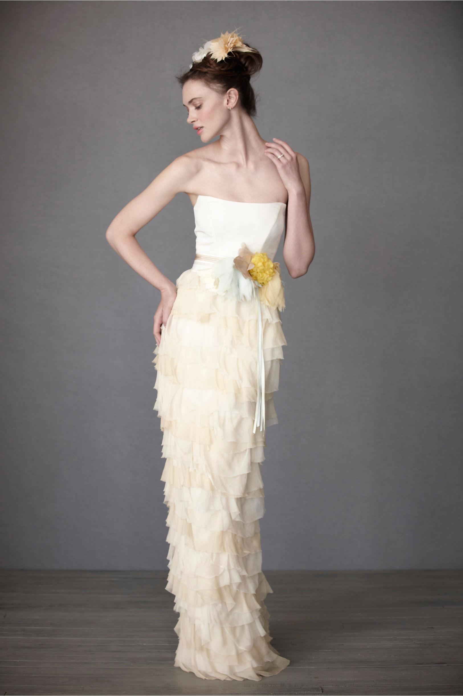BHLDN Mille Petal Dress