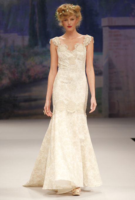 Edwardian inspired Claire Pettibone bridal gown - Provence