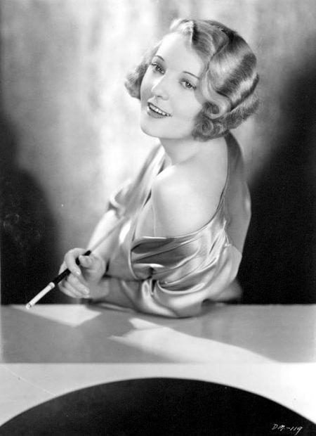 Dorothy Mackaill Finger Waves