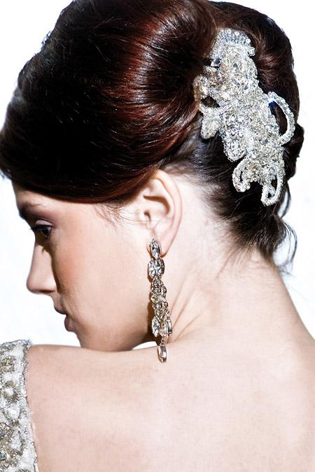 Mariana Hardwick's Femme Fatale Head Piece