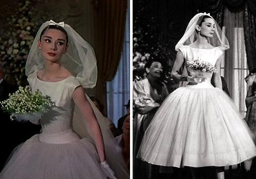 Funny Face Wedding Dress