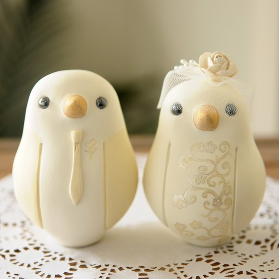 Love Birds Oh So Sweet Wedding Cake Toppers Chic Vintage Brides