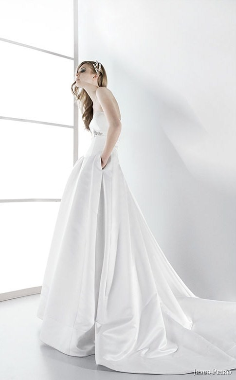 Jesus Peiro Pocket Wedding Dress