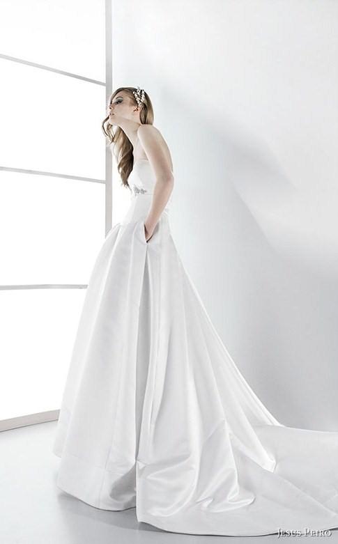 Jesus Peiro Pocket Wedding Dress