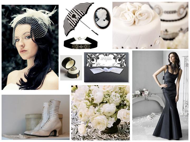 Edwardian Wedding Inspiration Board
