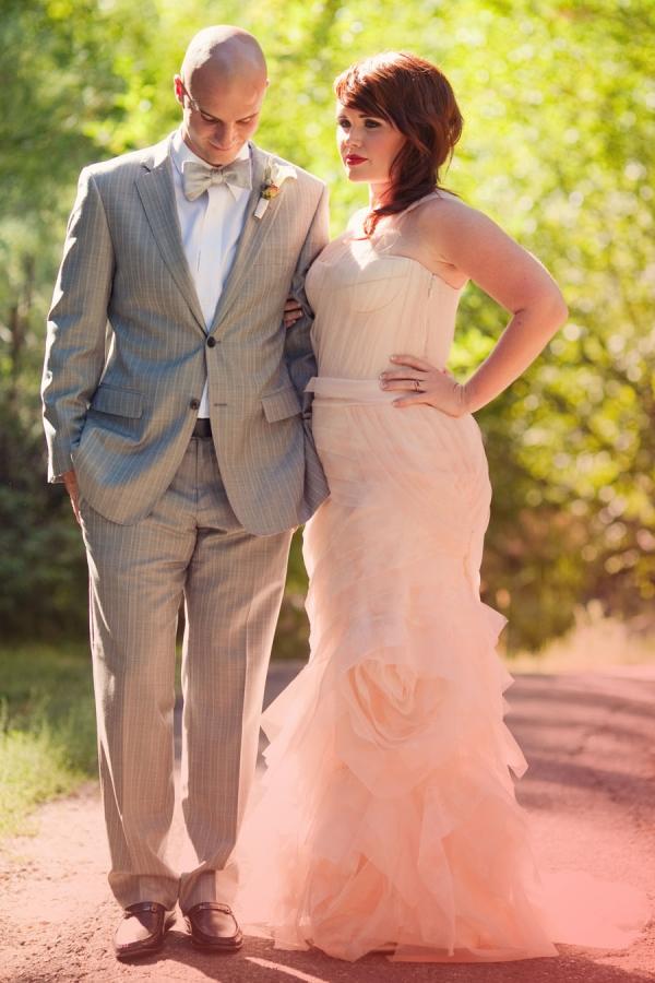Bride and Groom Reception Dress