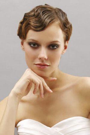 Short Hair Finger Waves Chic Vintage Brides Chic Vintage Brides
