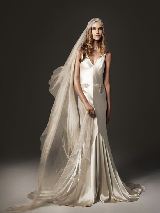 Glamourous johanna johnson gowns chic vintage brides the vintage neutral junglespirit Gallery