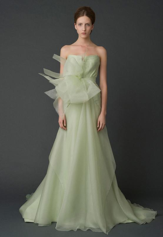 Vera Wang 2012 Mint Green