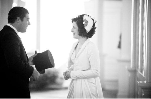Art Deco/Edwardian inspired wedding
