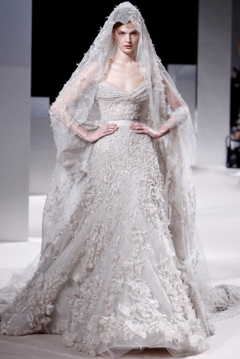 Ellie Saab Spring 2011 Bridal Gown