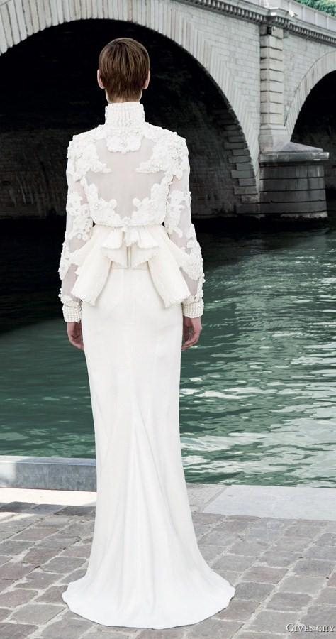 Givenchy Fall 2011 Wedding Dress