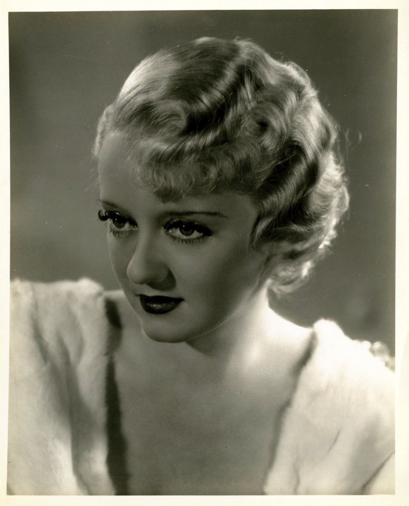 Bette Davis Finger Waves
