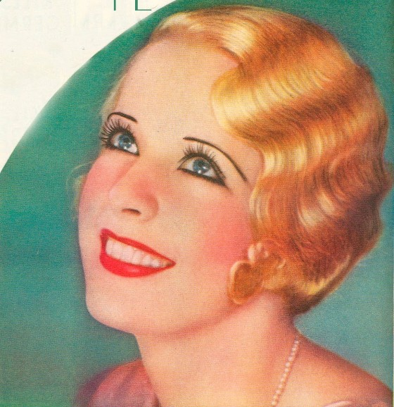 Marcel Waves and Finger Waves Hairstyles of the 1920s : Chic ...