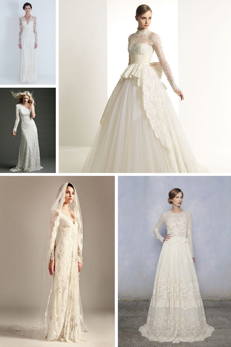 20 Of The Most Stunning Long Sleeve Wedding Dresses