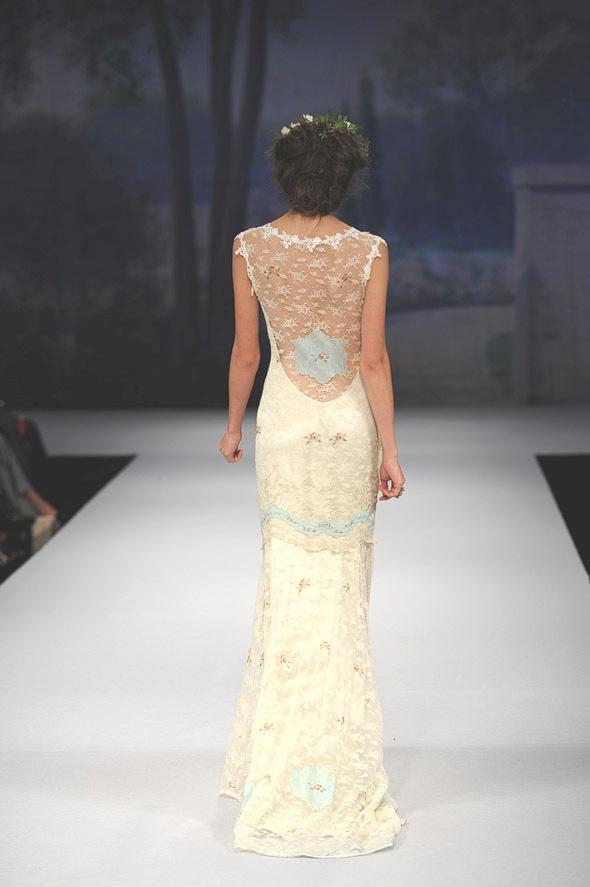 CLAIRE PETTIBONE 2012 Bridal Gown Ooh La La Back Detail