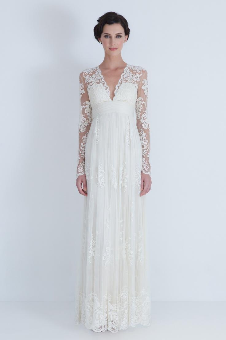 Catherine Deane Long Sleeve Wedding Dress