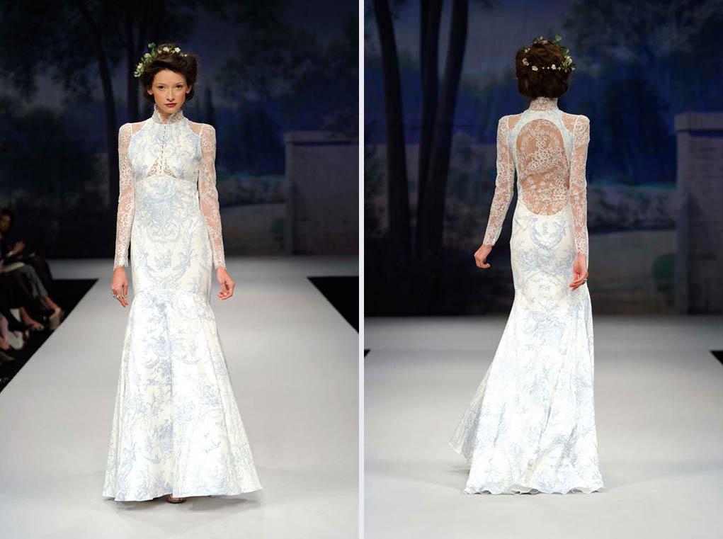 Claire Pettibone's Toile Francais Wedding Dress