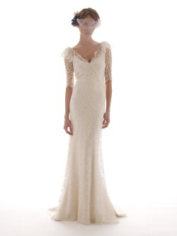 Elizabeth Filmore Long Sleeve Wedding Dress