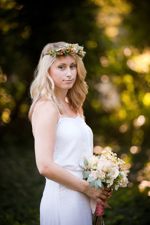 Berry Flower Bridal Headband Beautiful Boho Crowns Chic Vine Brides