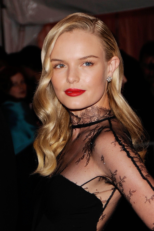 Kate Bosworth 1940s Pin Curls