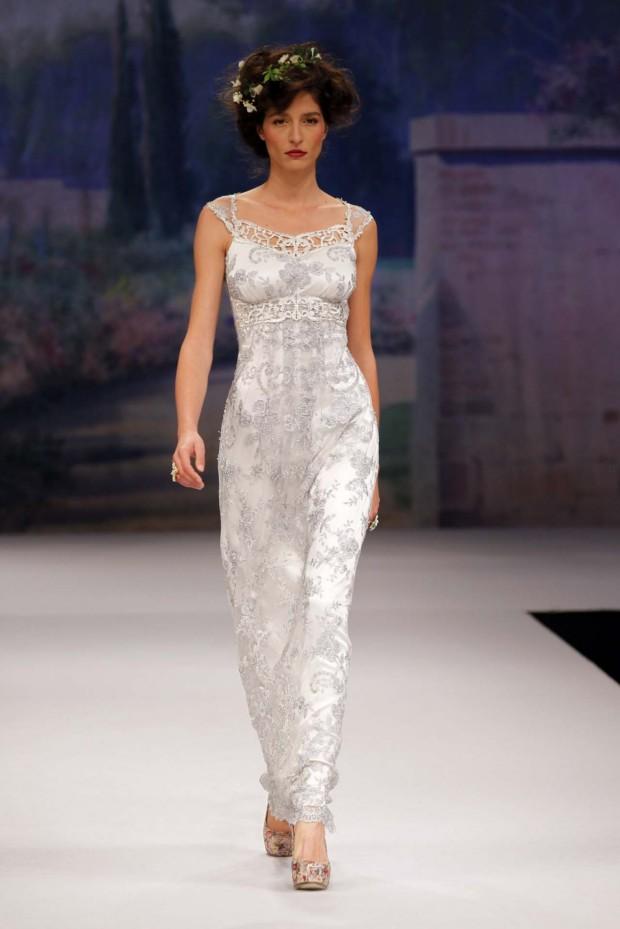 CLAIRE PETTIBONE 2012 Bridal Gown Lumiere