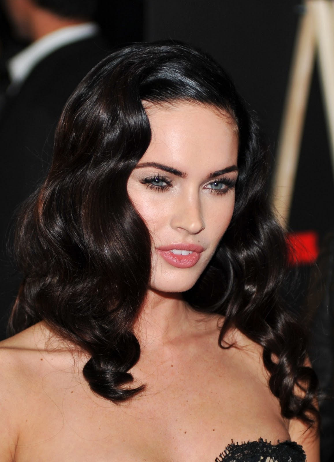 Megan Fox 1940s Waves