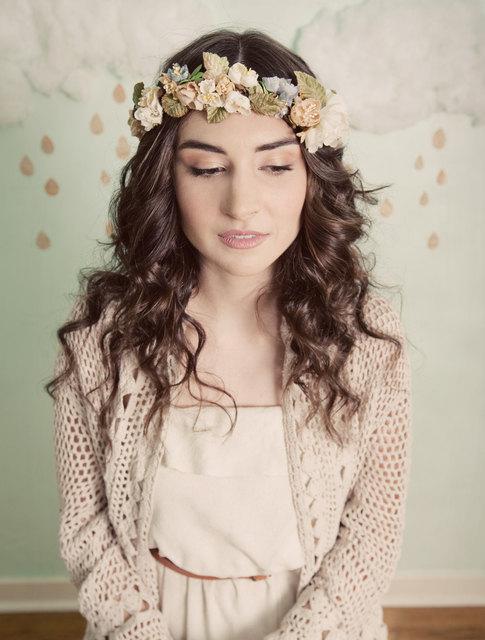 Mignonne Handmade Bridal Flower Wreath