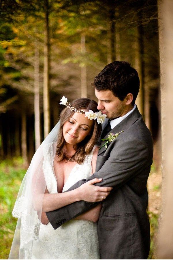 Ivory Flower Bridal Headband