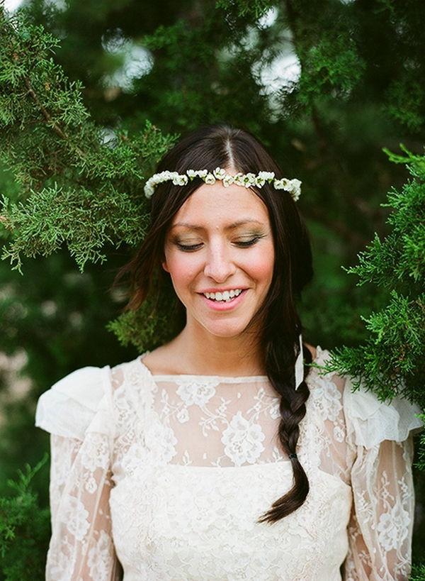 Style Me Pretty Flower Crown