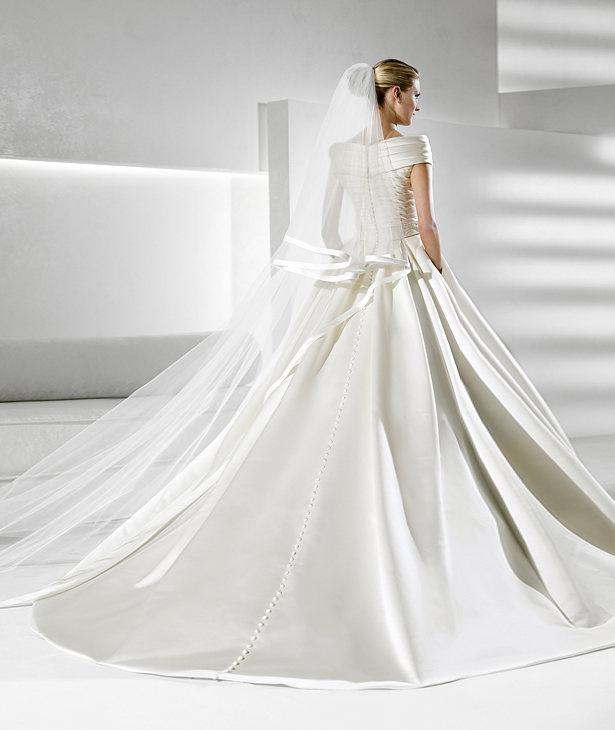 La Sposa 1950s inspired Bridal Gown Simbolo - Back