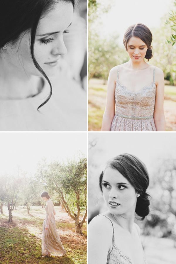 Collette Dinnigan Blush Gown