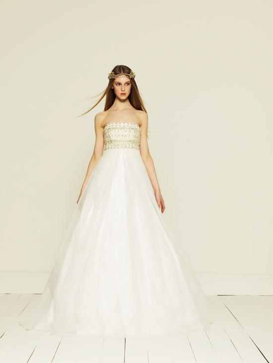 Collette Dinnigan 2012 Wedding Dress - Pearls & Palms