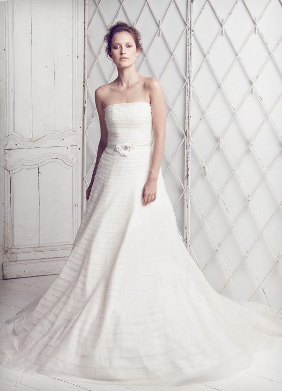 Collette-Dinnigan - SS11 Silk Organza Bridal Gown