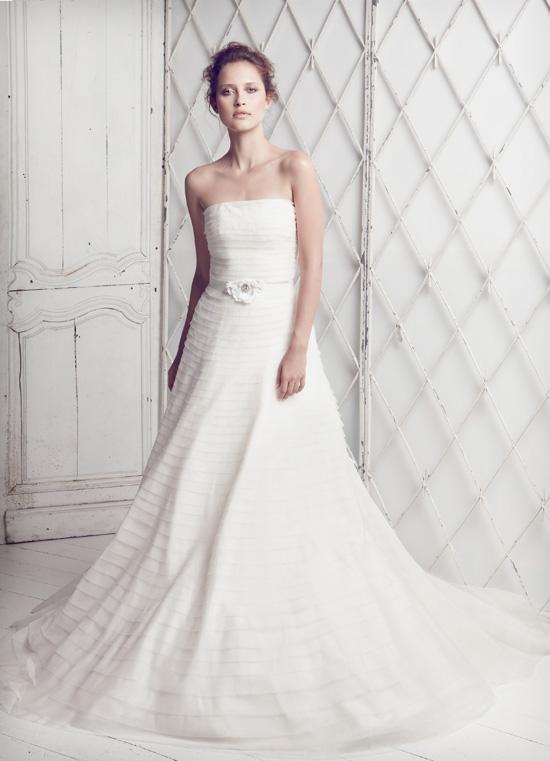 Collette-Dinnigan - SS11 Silk Organza Bridal Gown