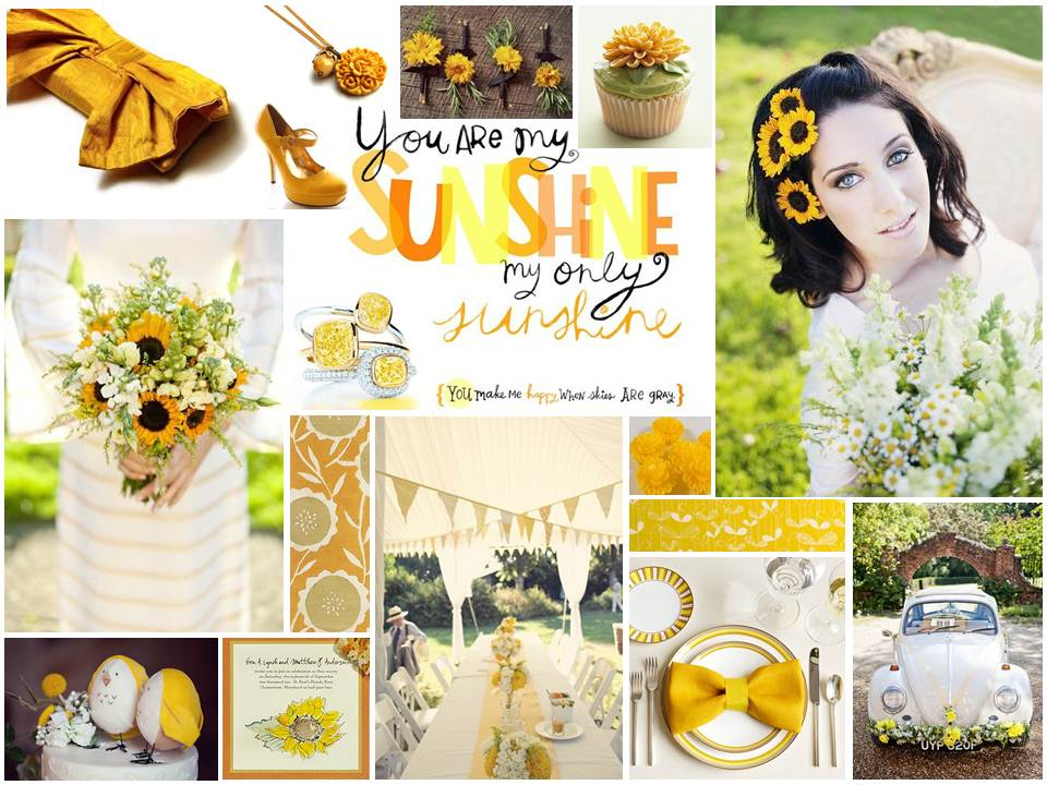 Summer Sunshine Mood Board