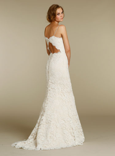 Alvina Valenta 2012 Lace Wedding Dress 9202