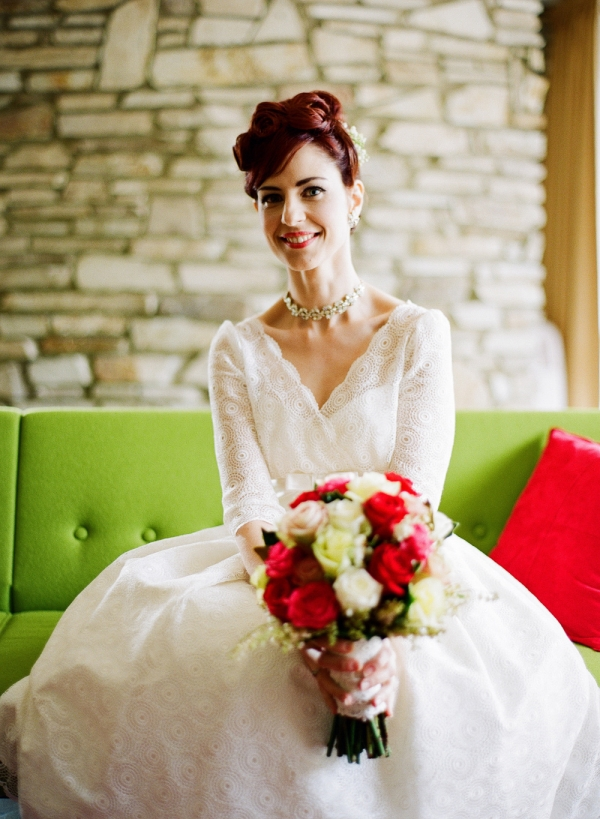 1950s Inspired Bride