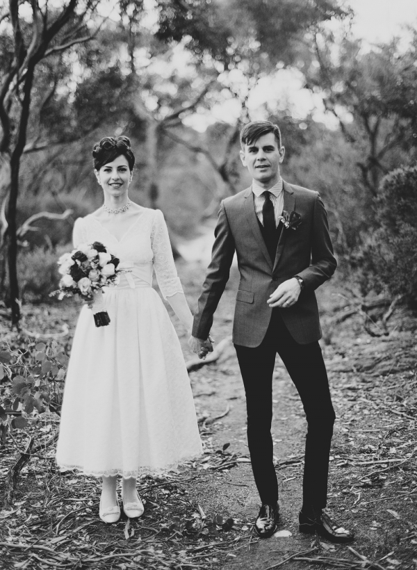 1950s inspired Melbourne Wedding