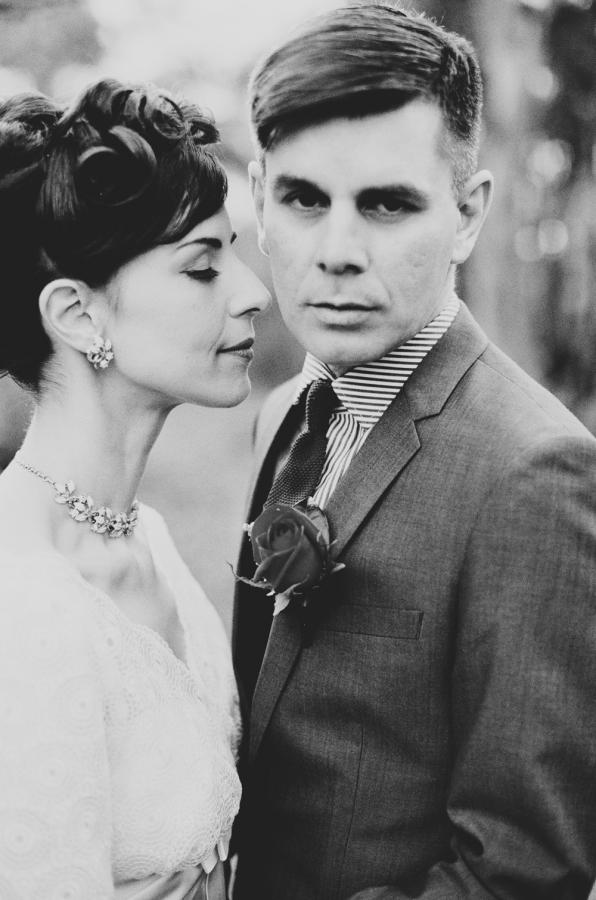 1950s inspired Melbourne Wedding