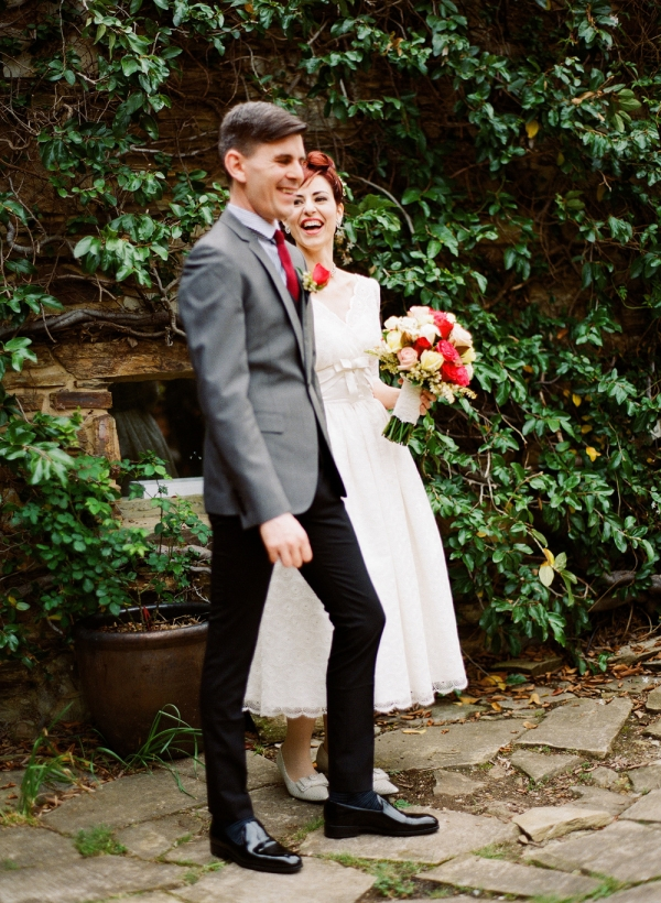 Retro Melbourne Wedding Ceremony