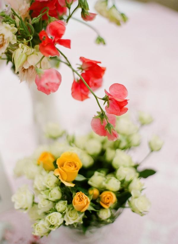 DIY Floral Centrepieces