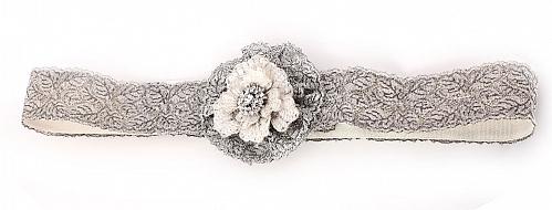 Karen Willis Holmes - Silver Lace Belt